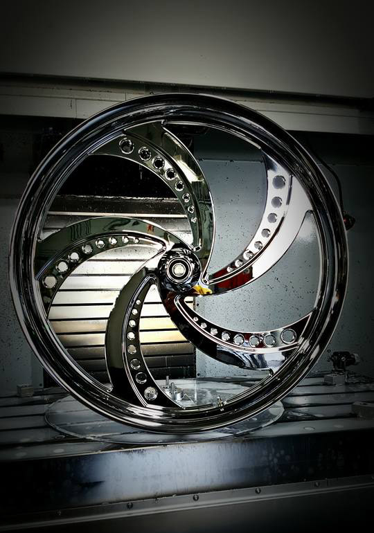 SMT Machining Custom Motorcycle Wheels