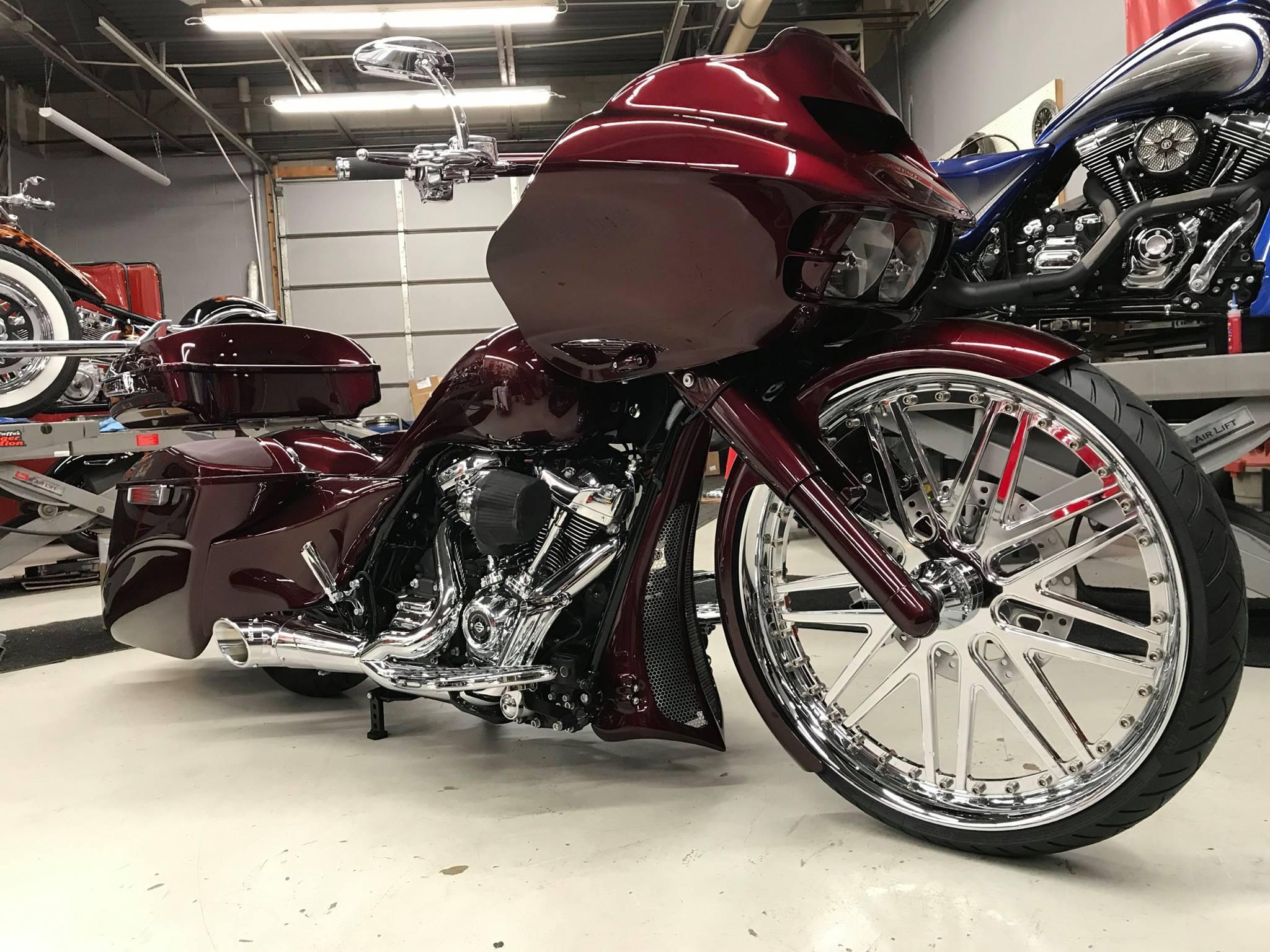 Removing Harley Touring Forks