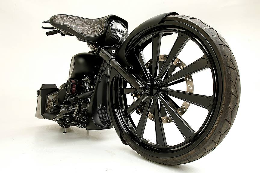 30″ DIY Harley Davidson Upgrade with Front Wheel Install