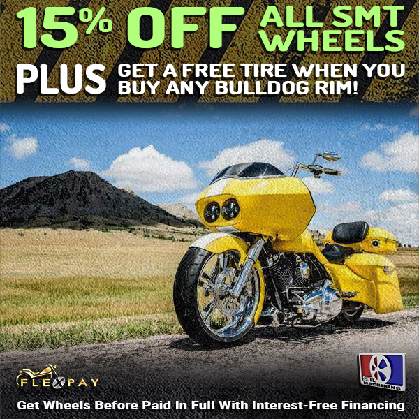 15% Off All SMT Machining Motorcycle Wheels Sale