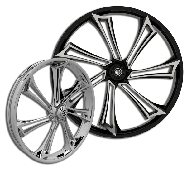 3d Reaper custom motorcycle wheel