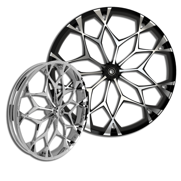 3D Torque custom motorcycle wheel
