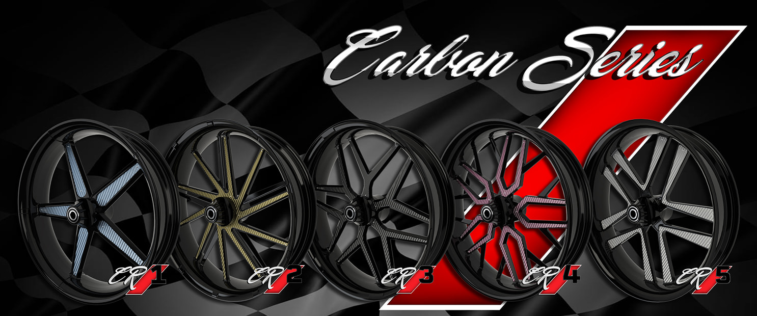 carbon series motorcycle wheels