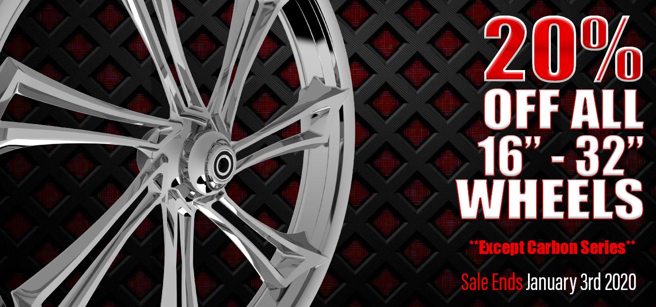SMT Machining & FLEXPAY Bring You 20% OFF All Wheels