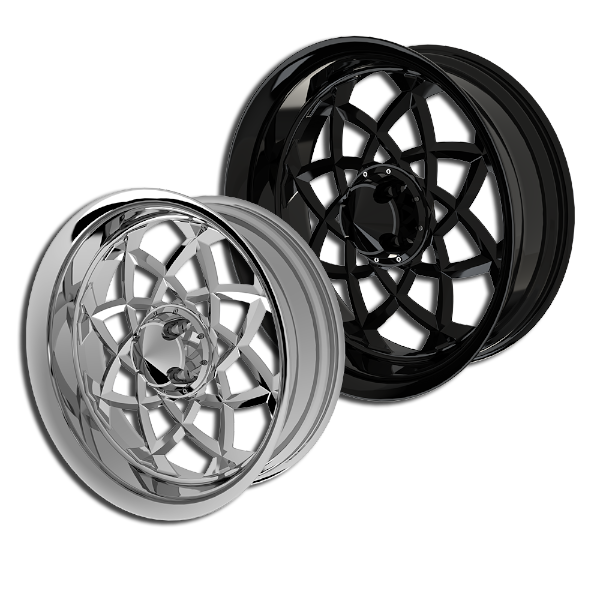 Aurora custom trike wheels