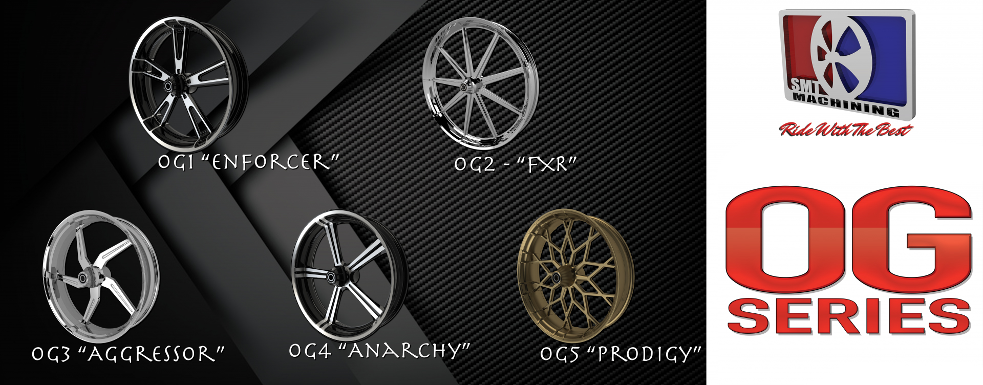 OG series motorcycle wheels